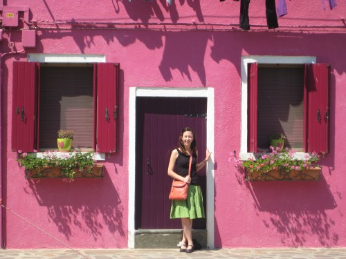 My favorite pink barbie house in Burano