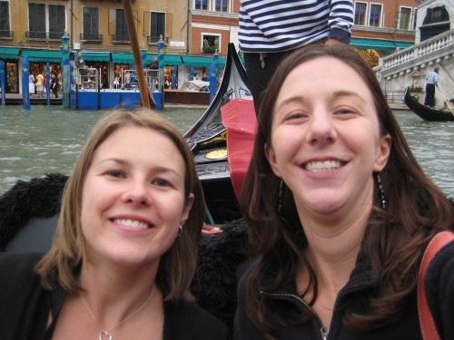 Liz and I on our gondola ride!  Wait til you see the video of this!