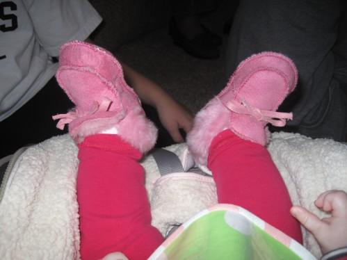 Tessa's shoes